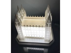 Salt Lake City Temple, Internal Lighting, Remix