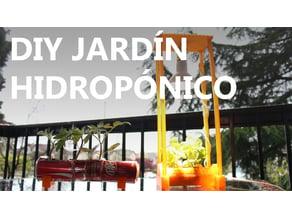 Jardín hidropónico por menos de 7 USD