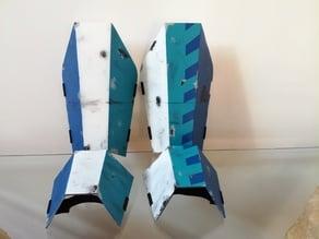 Mandalorian Leg Armor
