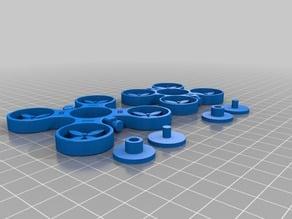 Mon-Mon Drone Fidget Spinners Singles toy