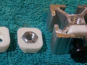 M5 nut holder for 10 series t-slot aluminum extrusion
