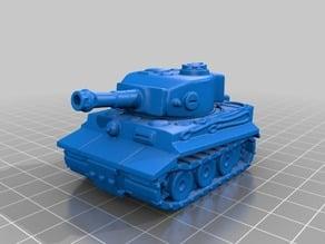 Tiger 1 - Chibi Tank