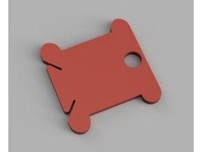 Cross Stitch Card Floss winding