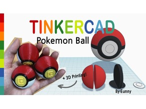 Pokemon Ball with Tinkercad