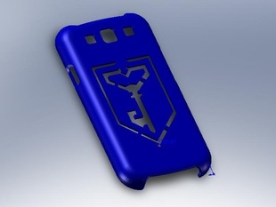 Galaxy s3 phone cover with Ingress Resistance Logo