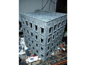 Stalingrad building for wargames