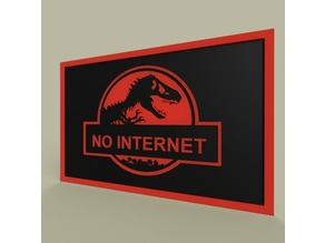 jurasic Park - No Internet
