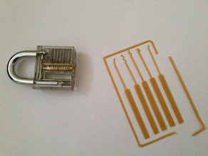 Lock Pick Set Card