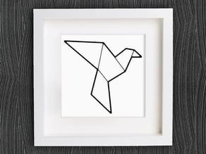 Customizable Origami Dove / Pigeon