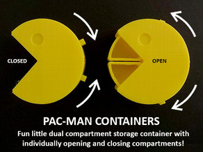 Pac-Man Containers