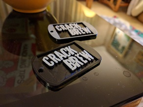 CRACKBREW Dog Tags!