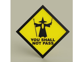 Gandalf - You shall not pass No2