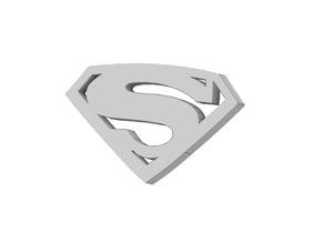 Logo Superman - Hombre de acero - DC Comics