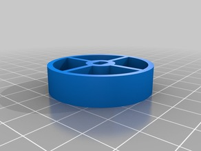 Tank Wheel Adapter for my Printrbot Clone