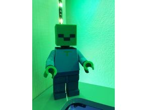 Lego Zombie Minecraft Multi-extrusion