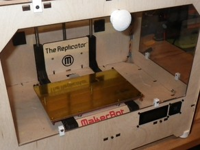 Replicator front and side panels