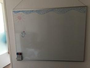 Whiteboard marker storage
