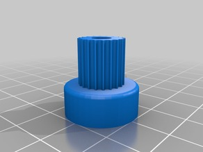 My Customized Parametric pulley -GT2-20 t