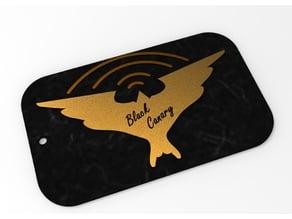 Black Canary Logo - Keychain