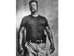 Abraham Ford Lithophane The Walking Dead