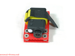 Anti vibration mount for the Mobius camera for multirotors and FPV