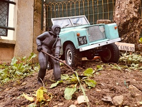 figurines LIQUIDATEURS Tchernobyl