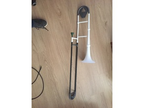 PrintBone small - 7 inch bell trombone
