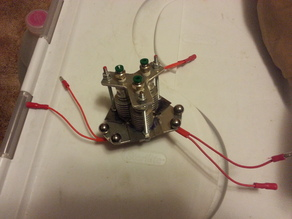 Auto-Clearance Adjustable Tripple Hotend Effector