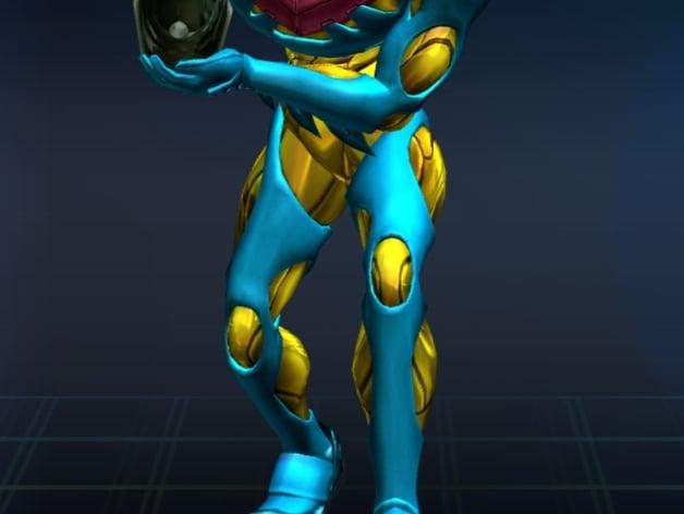Samus Fusion Suit By Jigsaw591