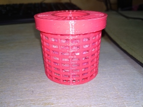 Spool insert round box for silica gel