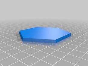 Hexagon & octagon wargaming miniatures base collection