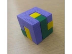 3 Piece Cubic Puzzle