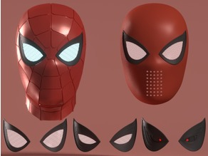 Iron Spider Helmet + Homecoming Faceshell