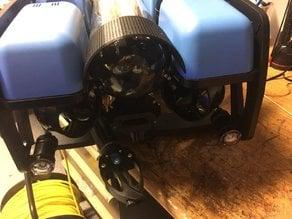 BlueROV2 Glare hood