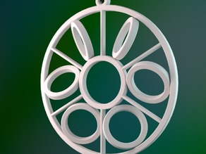 Rolling Circles Ornament