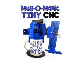 Mug-O-Matic Tiny CNC Drawing Robot