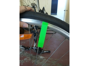 Bike tire lever - easy to print