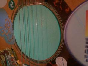 Acoustic guitar mute
