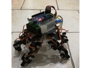 hexapod 18 servos MG90S