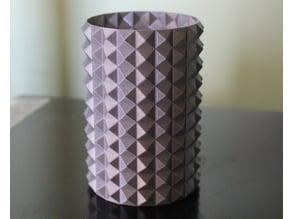 Heavy Metal Vase or pencil holder or whatever.