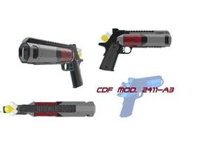 Gov.Mod. 2411-A3 CDF Officer's Sidearm