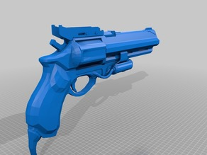 Destiny Exotic Hand Cannon Hawkmoon 1:1 Scale