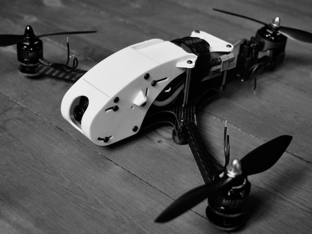 RCExplorer racing canopy for V3, V3.5 and mini tricopter