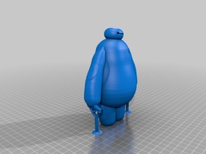 Baymax (w/ Flat Feet and Supports)