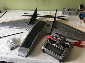 RiteWing Mini Drak Parts (cover and winglet insert)