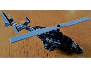 Matchbox Black Widow Helicpter Rotor