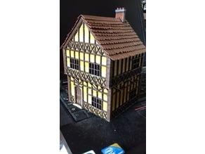 Tudor Style 2-Storey Wargaming House