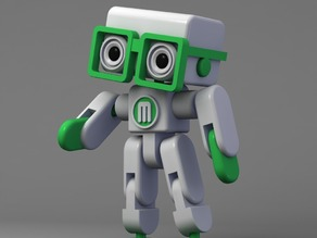 Mikey - makerbot grabcad challenge award finalist
