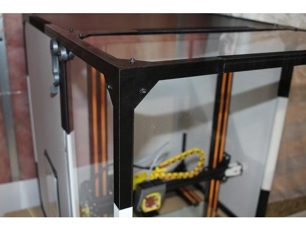 Cr 10 Table Top Enclosure Frame By Junaling Thingiverse