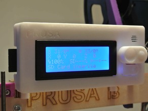 Support RepRapDiscount Smart LCD for Prusa I3
